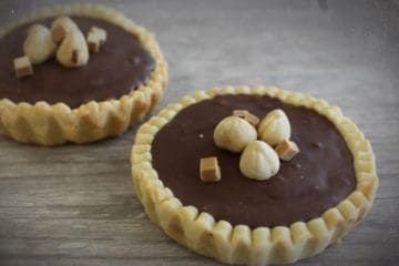 Tartelette Chocolade Hazelnoot