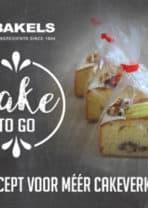 Bakels introduceert Cake To Go !