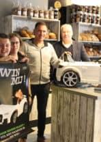 Uniek in Nunspeet winnaar volledig verzorgde winkelactie Bakels