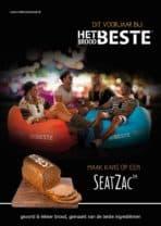 Nieuwe actie met Het Beste Brood: gratis SeatZac !